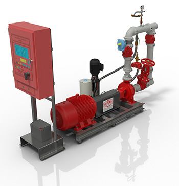 Electric Hydrant Pump Booster